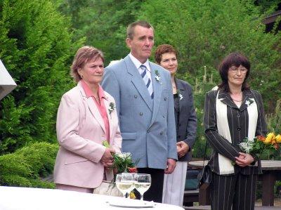 Karolin, Květoslav, Janka a Věra