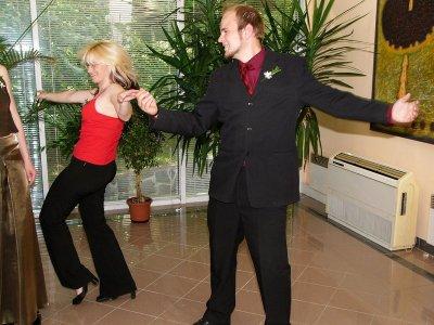 Tančící Radka a Jirka
