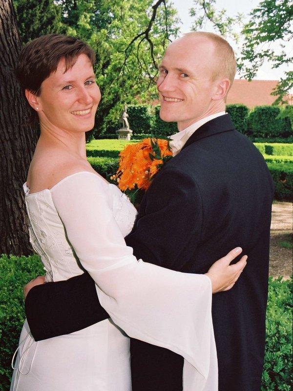 Novomanželé Daňkovi