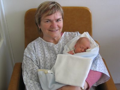 Babička Karolina s Pavlíkem