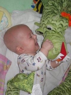 Pavlík zápasí s drakem